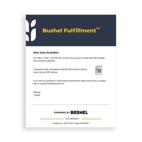 Bushel Fulfillment product image
